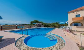 Eleana Apartments, Stavros, swimming-pool-area-3