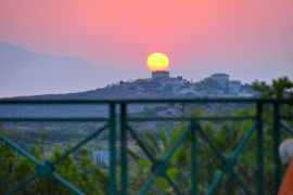 Aloni Suites, Калатас, romantic-sunset-view-1