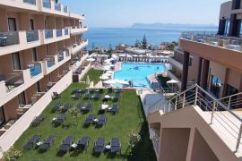 CHC Galini Sea View Hotel, Agia Marina, panoramic-view-pool-area-1a