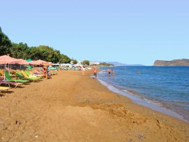 CHC Galini Sea View Hotel, Agia Marina, Galini Hotel Beach 2