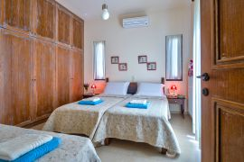 Villas Milos, Агиа Пелагиа, twin-bedroom-1a-villa-I