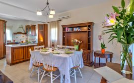 Gerani Villas, Gerani, kitchen-dining-area-1