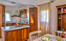 Gerani Villas, Gerani, kitchen-dining-area-2