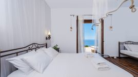 Libyan View Villa, Plakias, triple-bedroom-33a