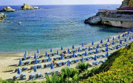 CHC Athina Palace Hotel and Spa, Agia Pelagia, sandy-beach-1a