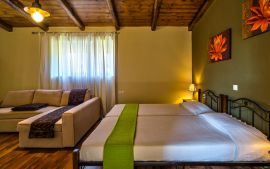 Nature Heaven Villa, Tavronitis, twin-bedroom-mj-1a