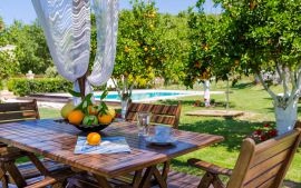 Nature Heaven Villa, Tavronitis, shaded-kiosk-mj-5