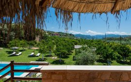 Nature Heaven Villa, Tavronitis, garden-view-mj-1