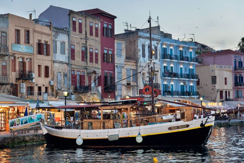 Cruises in Chania with Boat, Chania, boat-maro-2
