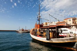 Cruises in Chania with Boat, Chania, boat-maro-1