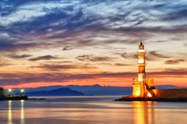 Cruises in Chania with Boat, Chania, lighthouse-1a