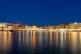 Cruises in Chania with Boat, Chania, old-habrour-view-2
