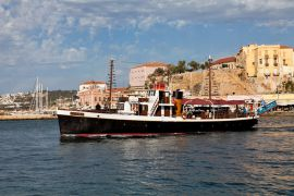 Cruises in Chania with Boat, Chania, boat-irini-1a