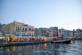 Cruises in Chania with Boat, Chania, old-harbour-2