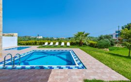 Villas Golden Beach, Agioi Apostoloi, swimming-pool-area-new-2