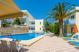 Mediterranea Apartments, Agioi Apostoloi, pool-area-new-4