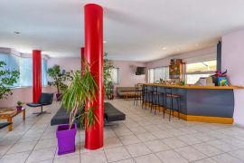 Mediterranea Apartments, Agioi Apostoloi, lounge-bar-new-1
