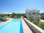 Villa Holly Courtyard in Crete, Rethymno, Prines