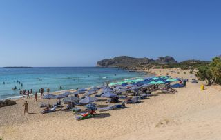 falasarna sandy beach 3