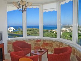 Cactus Apartments, Σταλός, amazing barcony sea view 1