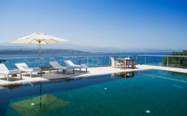 Divine Villas, Tersanas, pool-sea-view-4