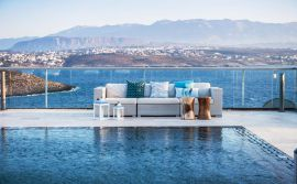Athena Villas, Tersanas, pool-sea-view-1
