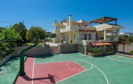 Villa Maria, Pigi, basketball-court