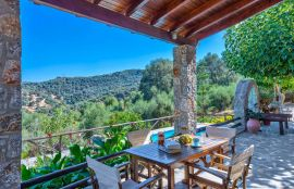 Villa Olive, Voukolies, villa-olive-mountain-view-3-small