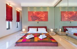 Modern Interior Villa, Maleme, bedroom 1i
