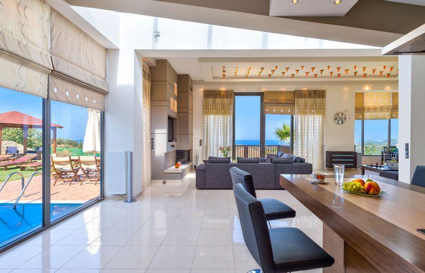 Modern Interior Villa in Maleme, Chania – TheHotel.gr