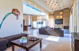 Modern Interior Villa, Maleme, living room 4