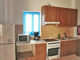Kiona Apartments, Plakias, kionia-apartments-one-bedroom-kitchen