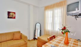 Isadora Apartments, Almirida, isadora-apartments-one-bedroom-livingroom-1b