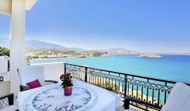 Isadora Apartments, Almirida, isadora-apt-three-bedroom-apt-balcony