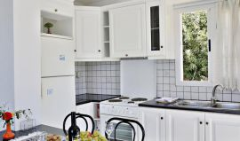Isadora Apartments, Almirida, isadora-apt-three-bedroom-apt-kitchen
