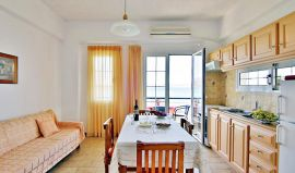 Isadora Apartments, Almirida, isadora-apt-two-bedroom-apt-kitchen-1b