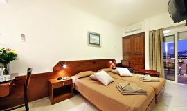 Arkadi Hotel, Chania town, arkadi-hotel-twin-bedroom-3