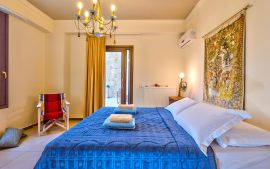 Anemomilos Villas, Agia Pelagia, villaIII-double-bedroom