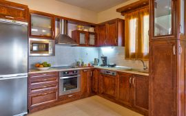 Villa Yannis, Астери, villa-yiannis-kitchen