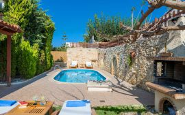 Villa Yannis, Астери, villa-yiannis-pool-area-6