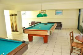 Aloni Suites, Kalathas, Aloni Suites billiards' room