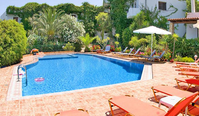 Emerald Apartments, Plaka, pool-area-17