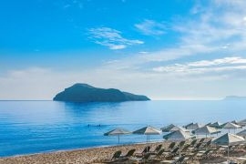Porto Platanias Beach Resort, Platanias, sandy-beach