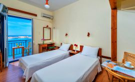 Lucia Hotel, Chania (Byen), double-room-sea-view-1b