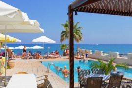 Seafront Apartments, Adelianos Kampos, pool-area-I.