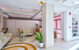 Leonidas Hotel and Apartments, Rethymno town, Reception