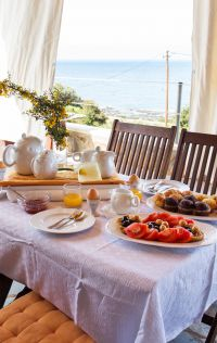 Villa Peaceful Mind, Ελαφονήσι, Breakfast at the balcony