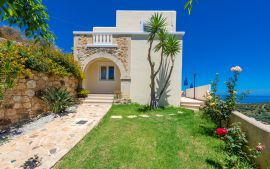 Ilios Villas, Stalos, Entrance