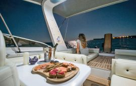 Cruises in Chania with Yacht, Chania town, Yacht Cigala Bertinetti