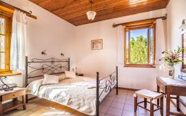 Villas Manos, Megala Horafia, Bedroom